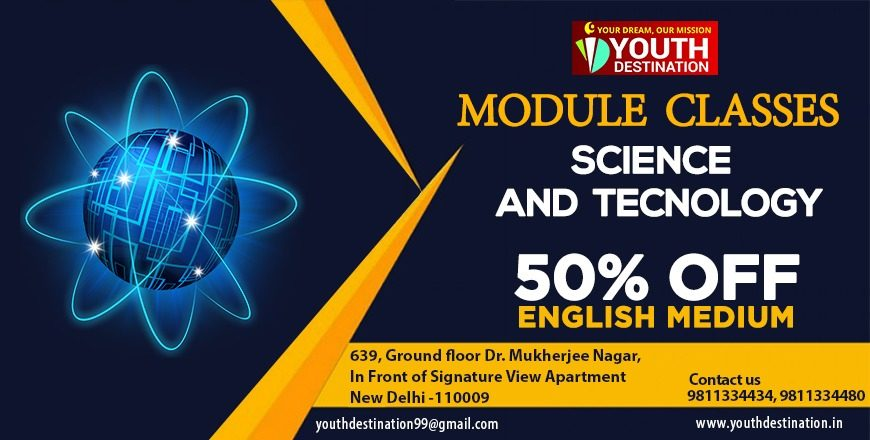Science and Technology Module classes for upsc